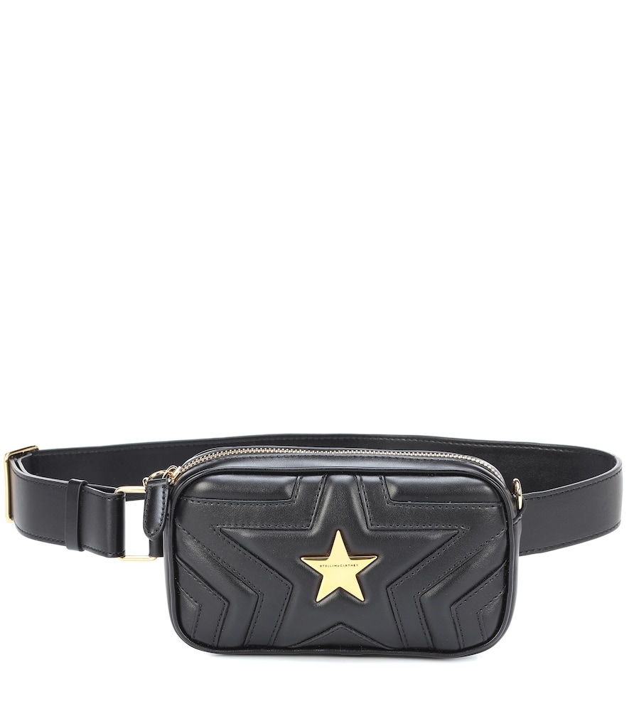STELLA MCCARTNEY STELLA STAR FAUX LEATHER BELT BAG