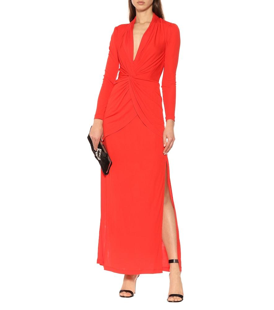 Stacia crêpe maxi dress by Diane von Furstenberg