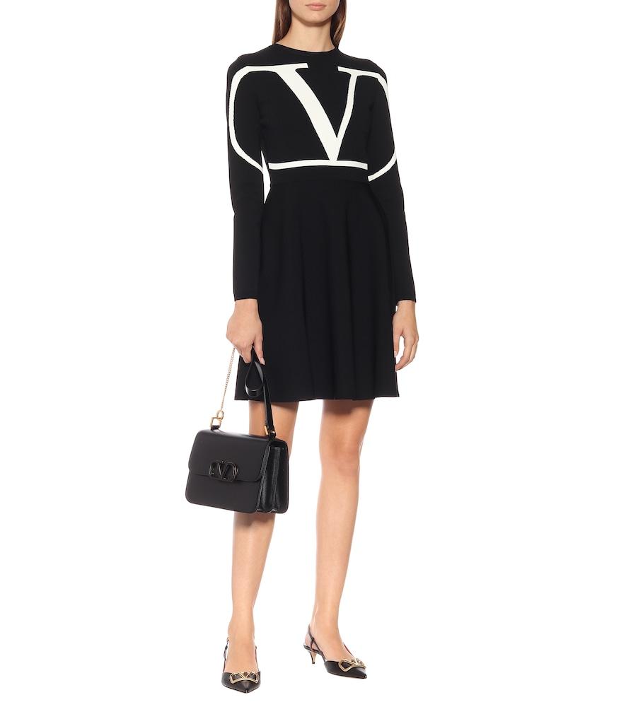 VLOGO jersey dress by Valentino