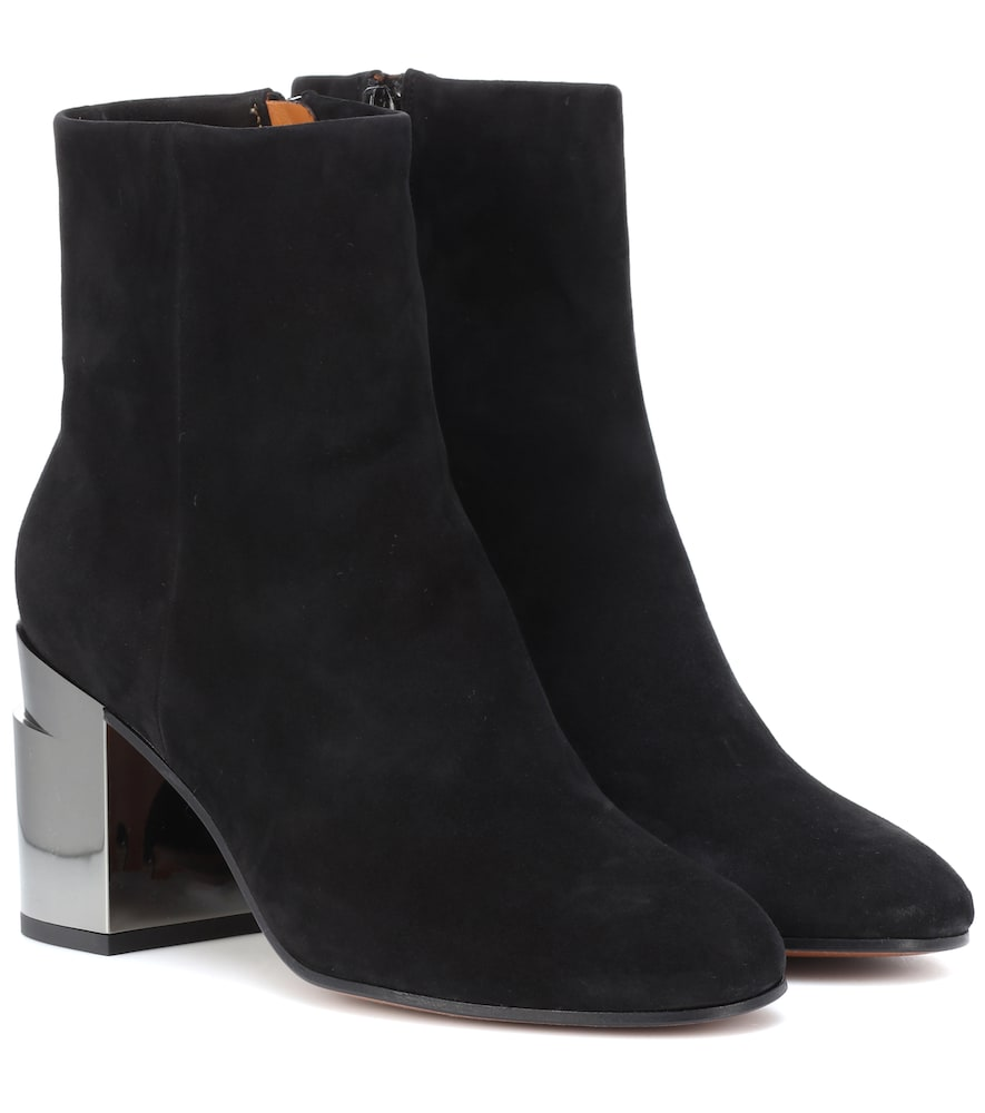 Keyla Suede Ankle Boots, Black