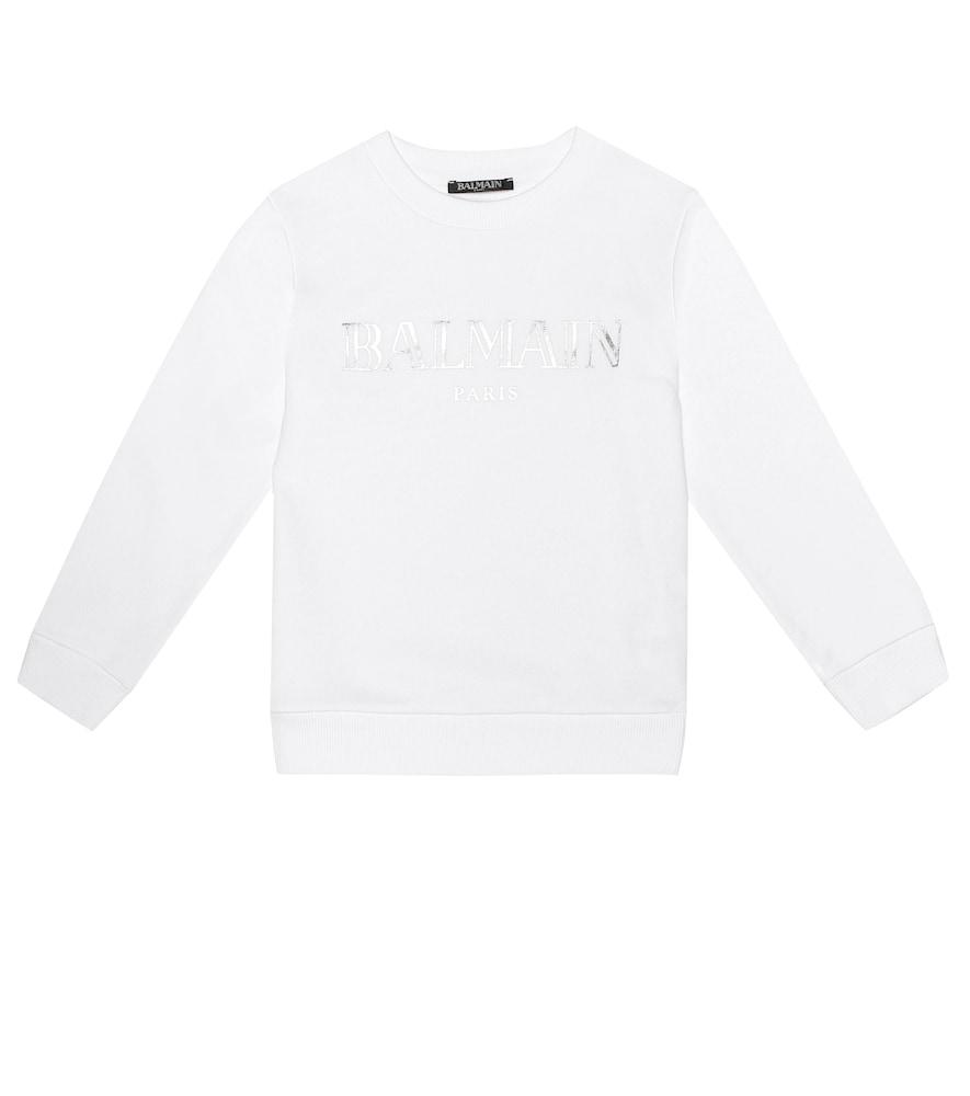 BALMAIN KIDS | Logo Cotton Sweater | Goxip