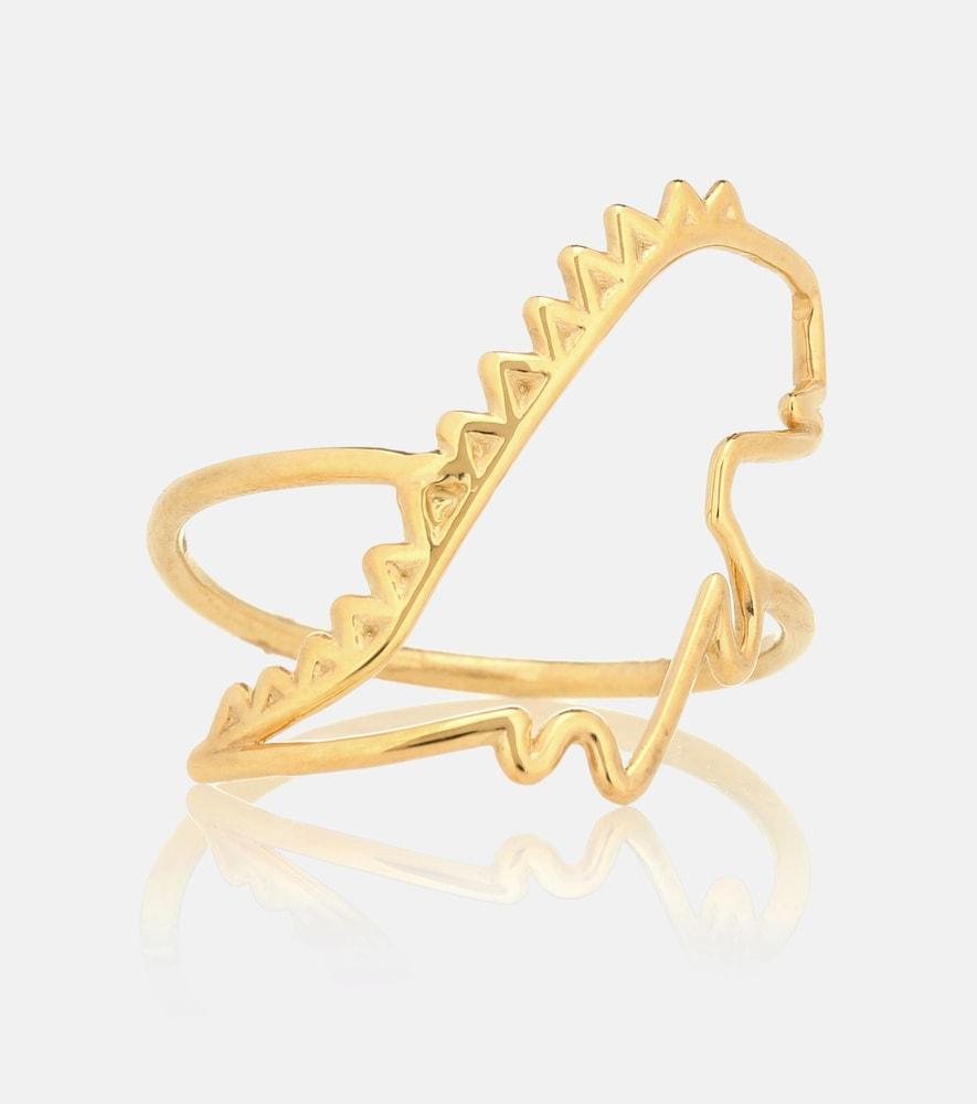 Dino Puro 9kt yellow gold ring