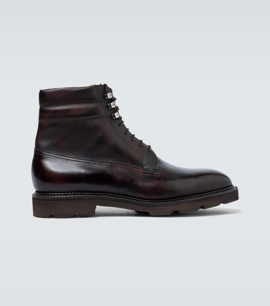 Alder leather boots
