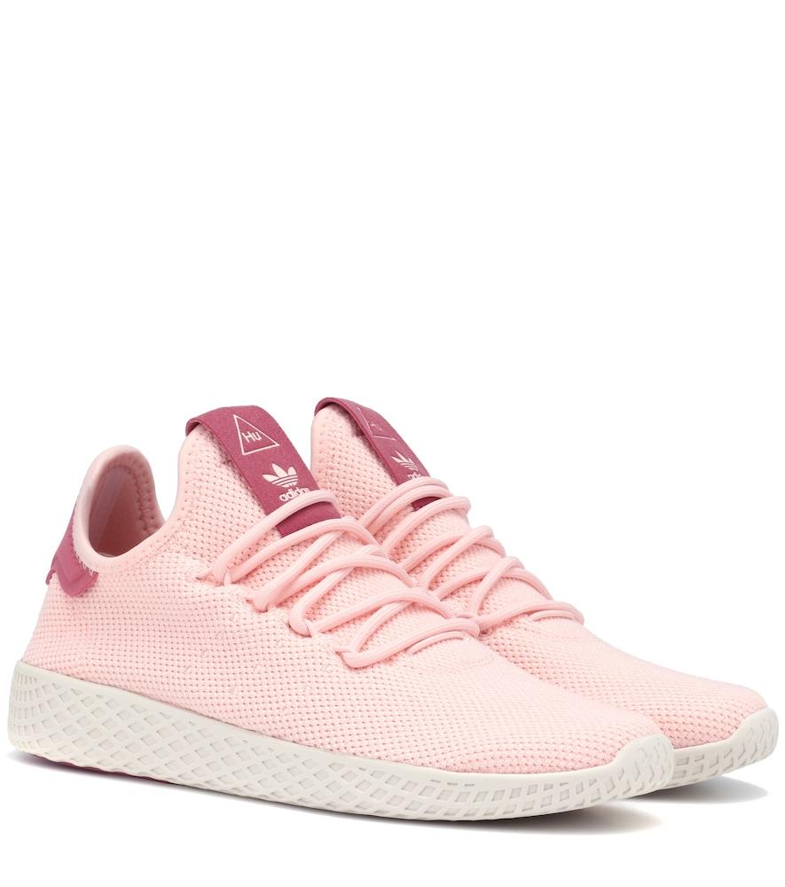 ADIDAS ORIGINALS X PHARRELL WILLIAMS Tennis Hu Sneakers in Pink