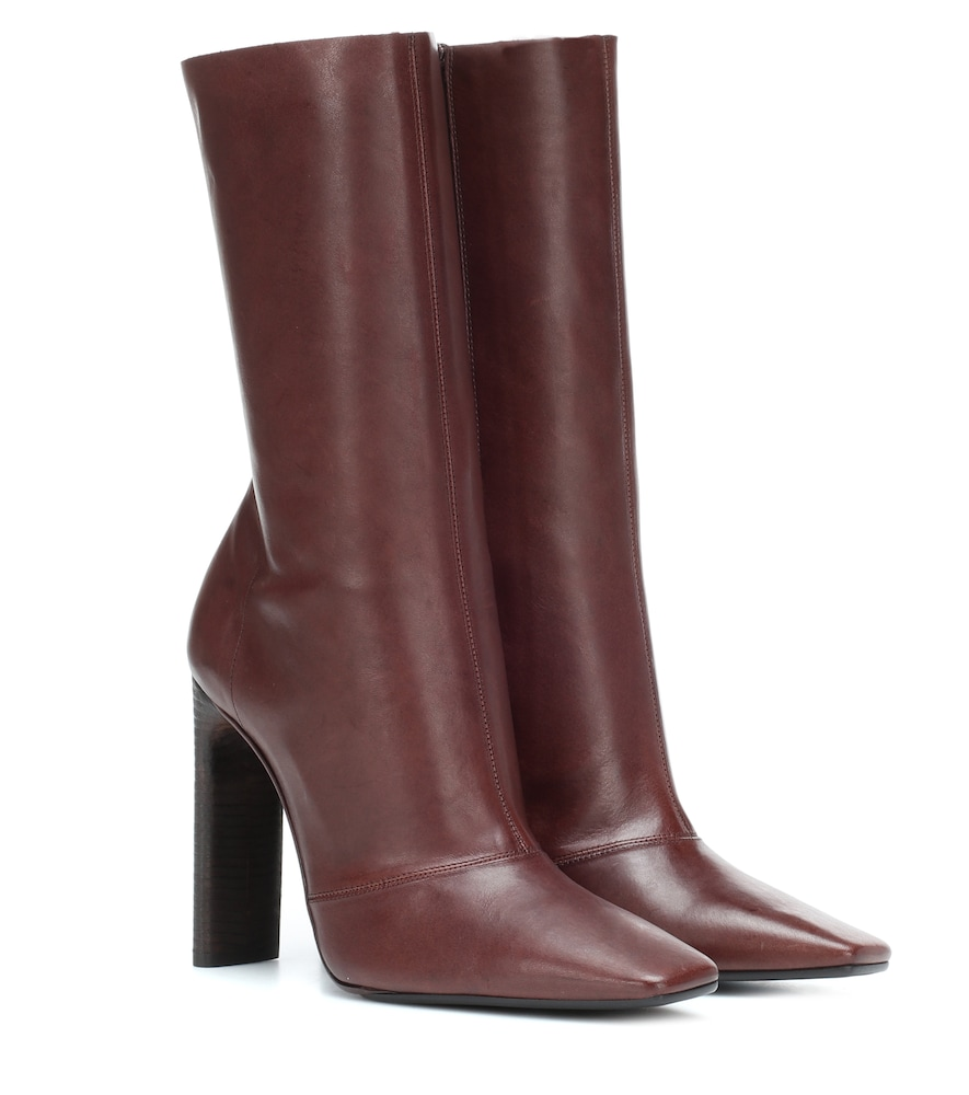 Season 7 Square Toe Boots in Brown