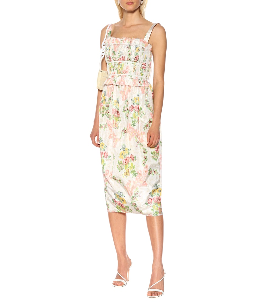 Exclusive to Mytheresa - Palmira floral silk-blend dress by Brock Collection