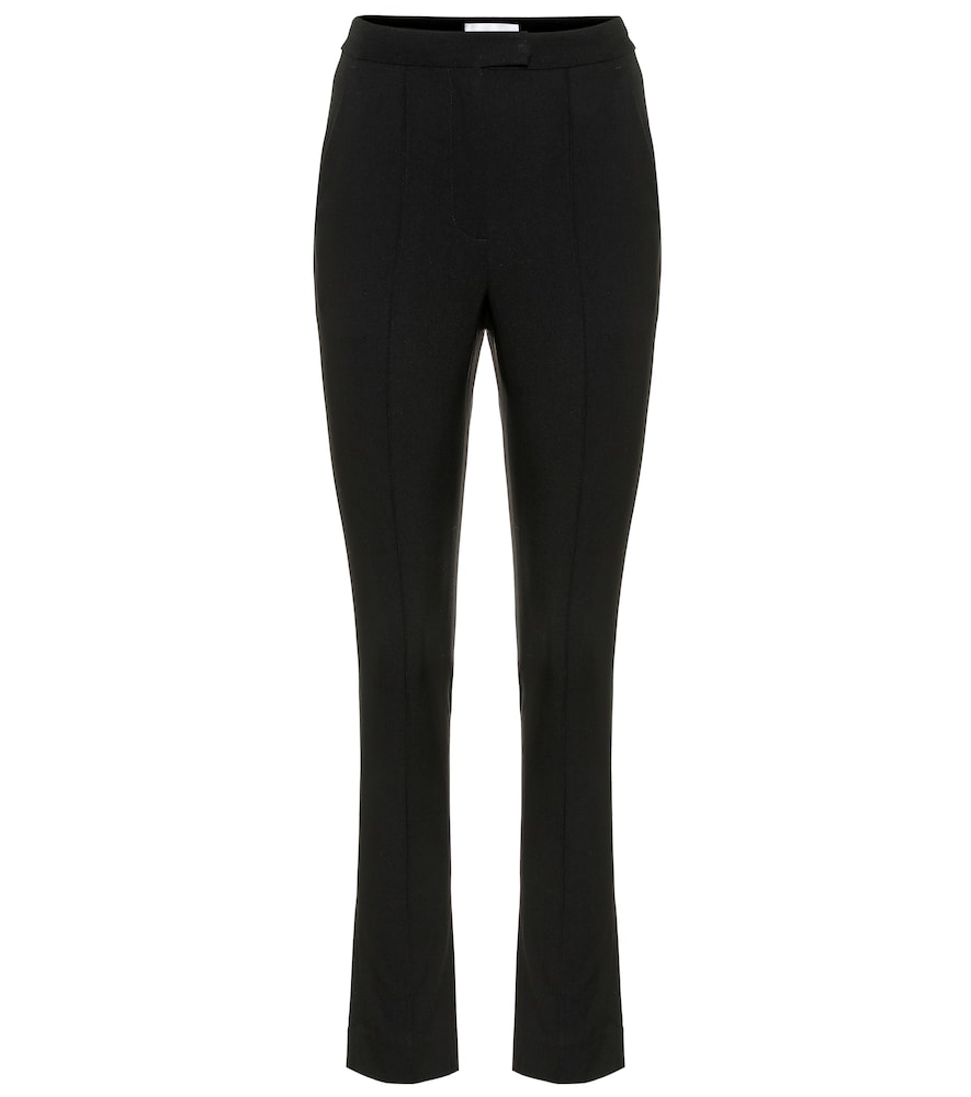 Pantalon skinny Jacqueline raccourci à taille haute
