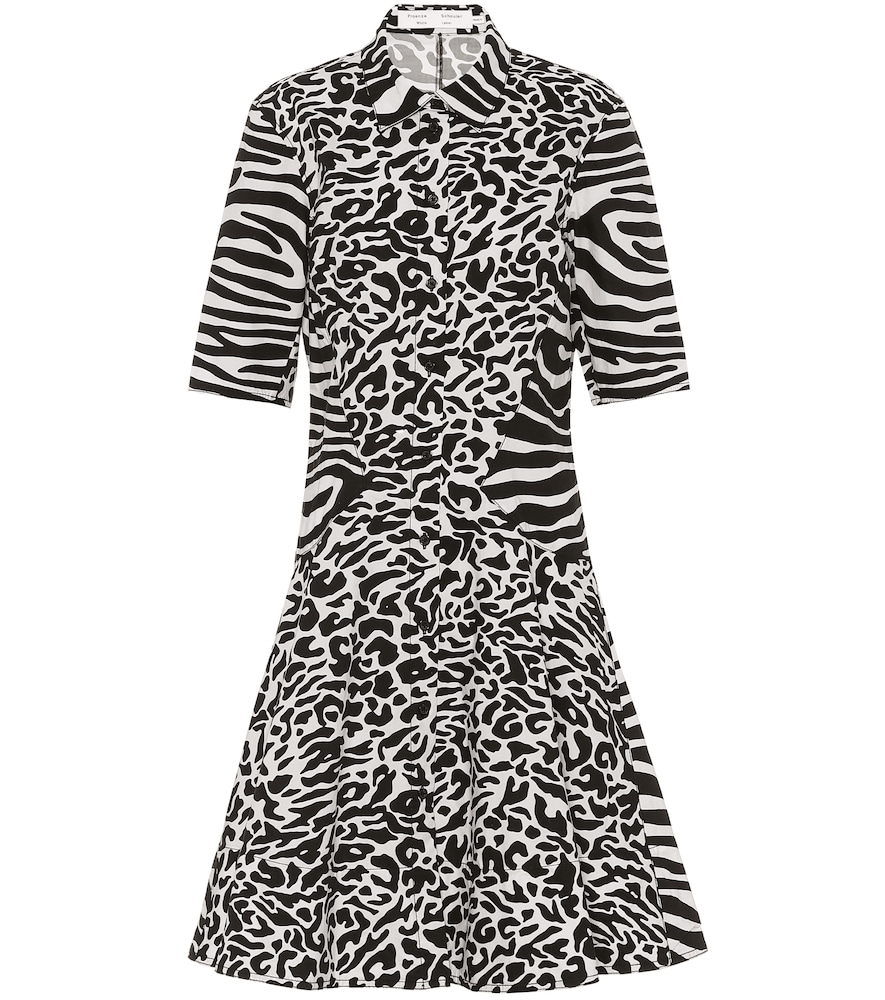 Robe chemise en coton - Proenza Schouler - Modalova