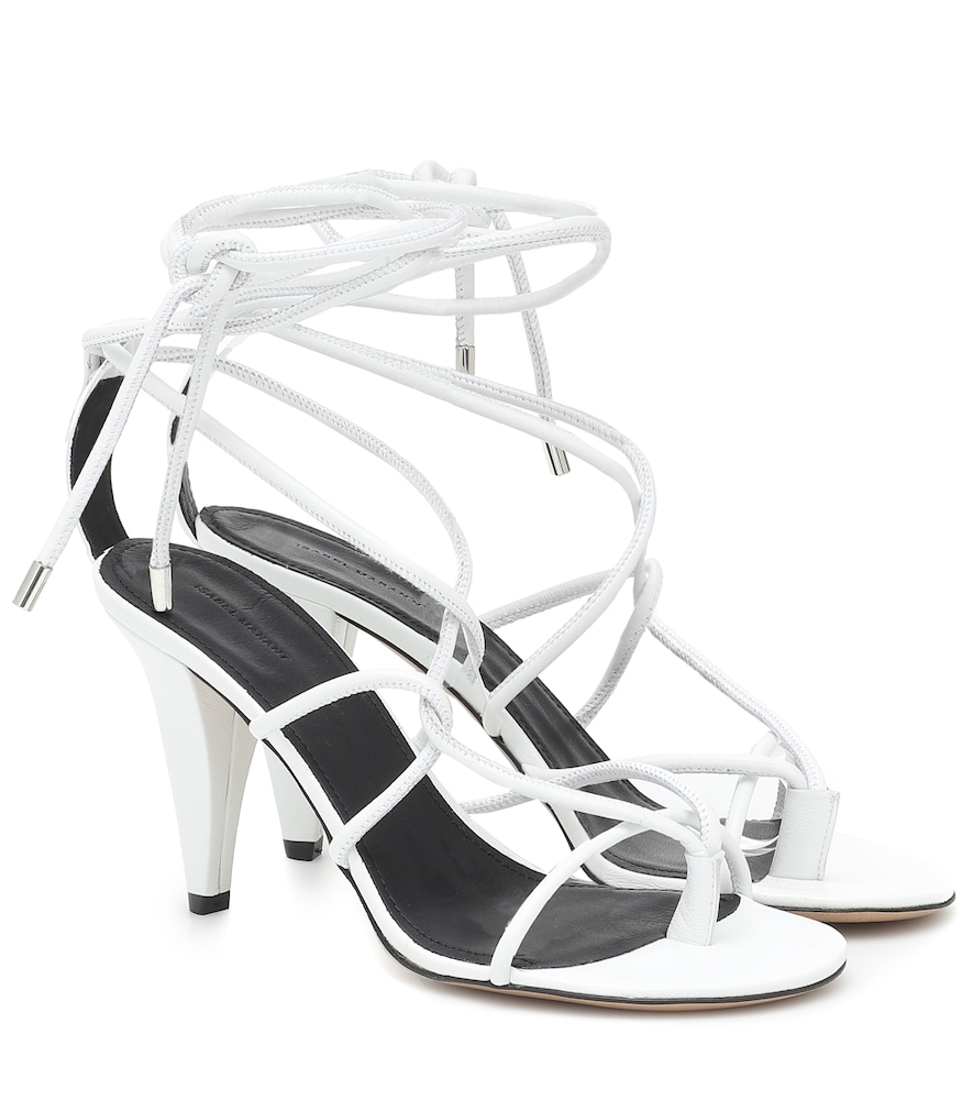 Abka leather sandals