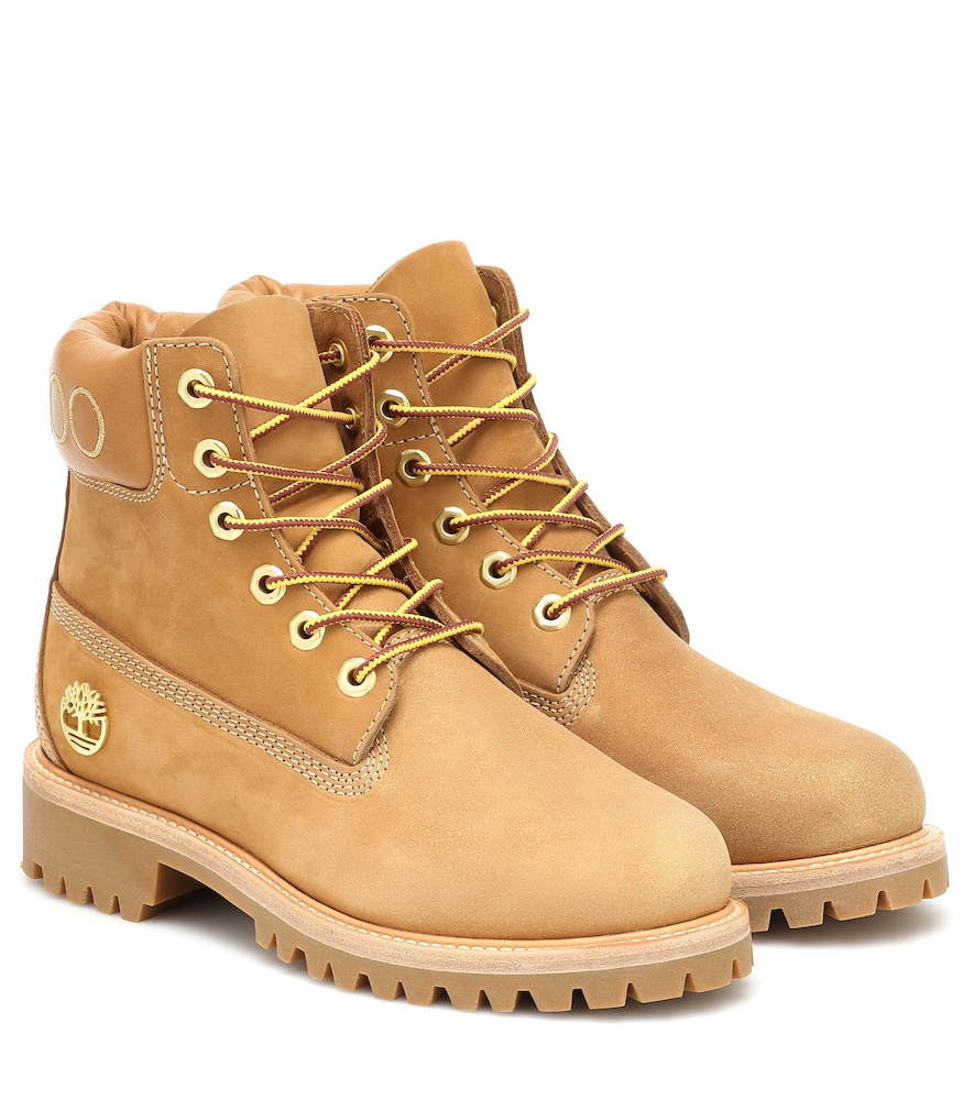 Jimmy Choo Leathers X TIMBERLAND PREMIUM 6 ANKLE BOOTS