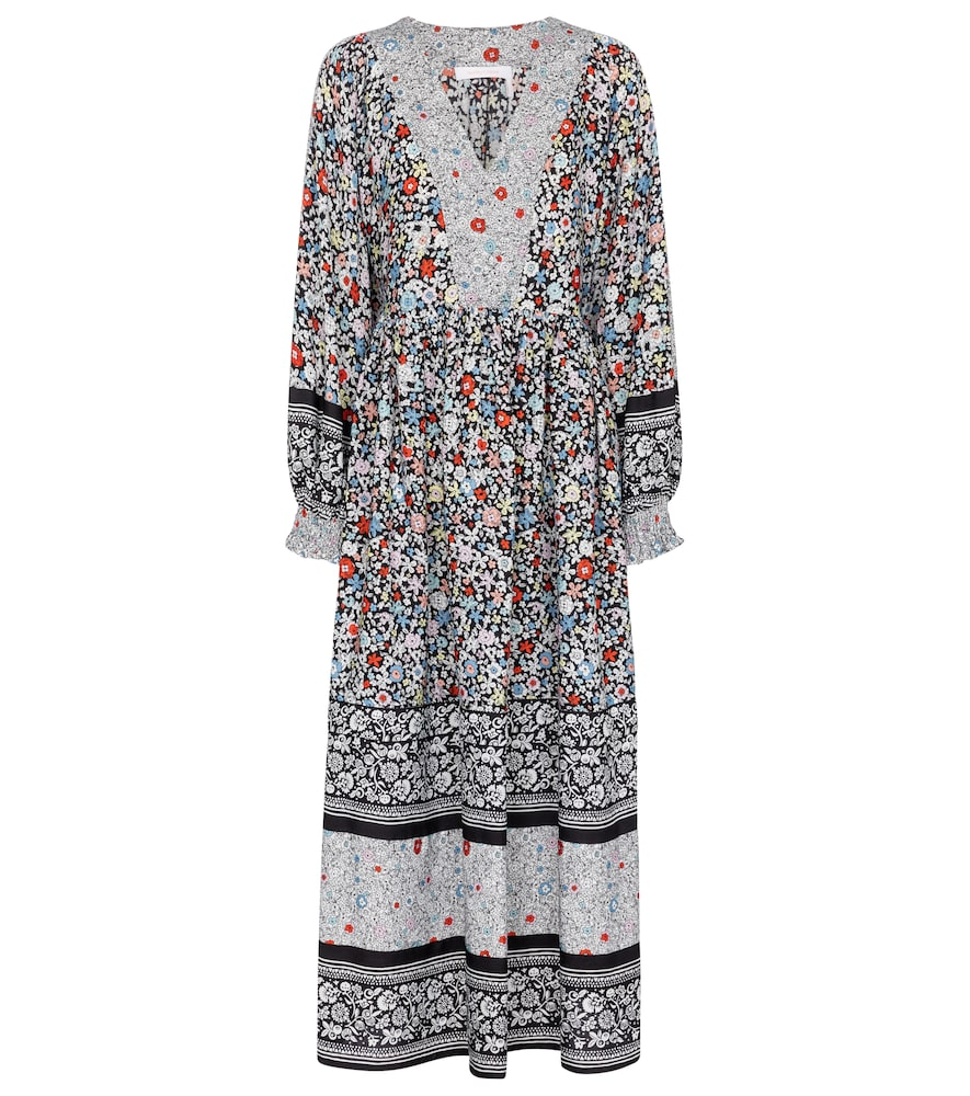See By Chloé FLORAL MAXI DRESS