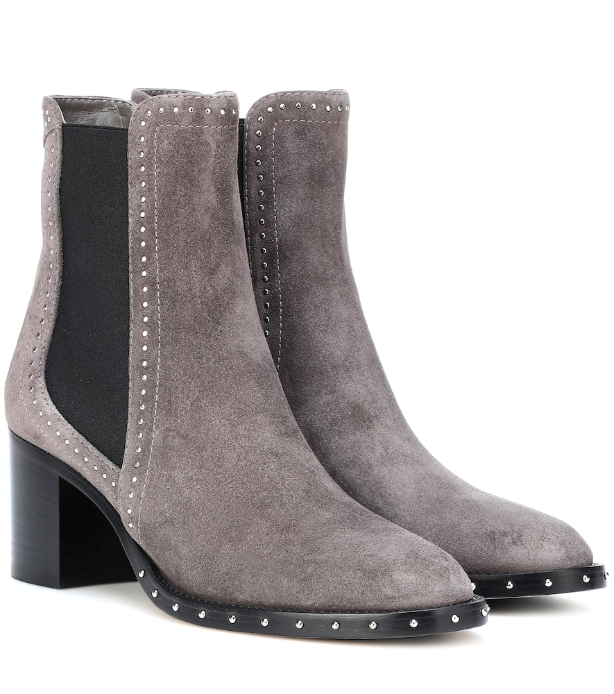 Merril 65 Suede Ankle Boots in Grey