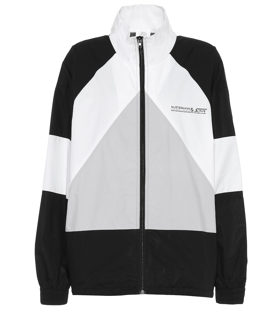 Cotton track jacket by Vetements