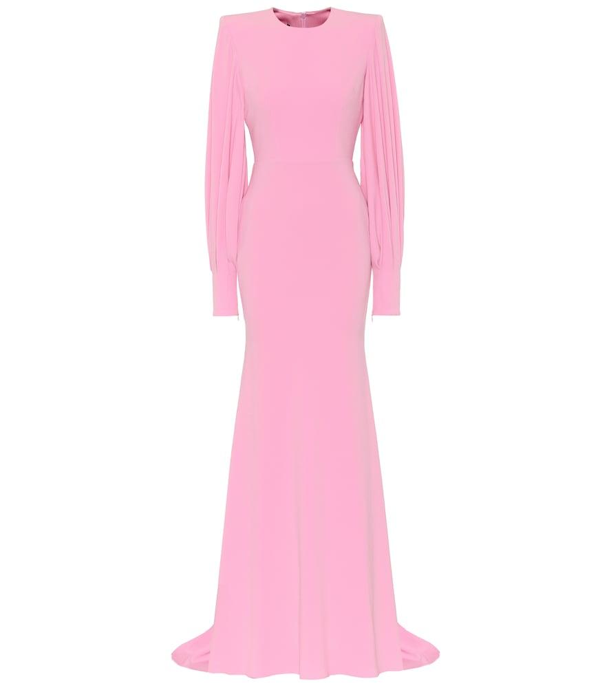 Robe longue en crêpe - Alex Perry - Modalova