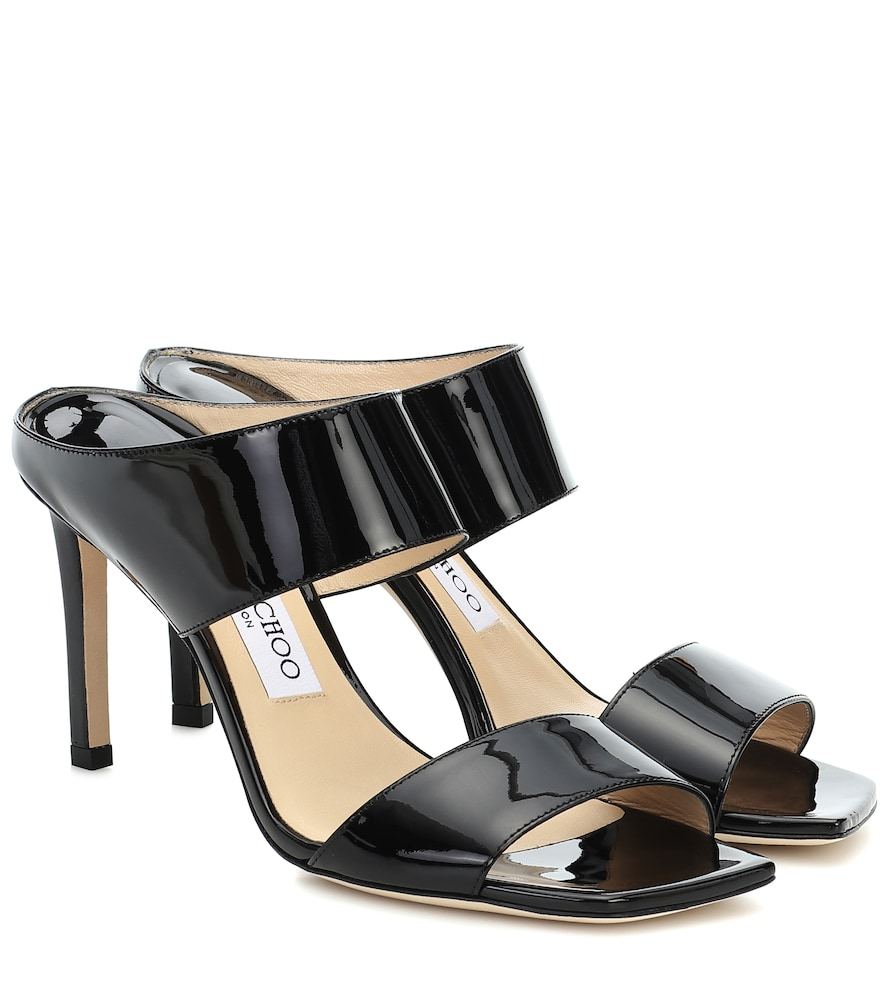 Hira 85 patent leather sandals