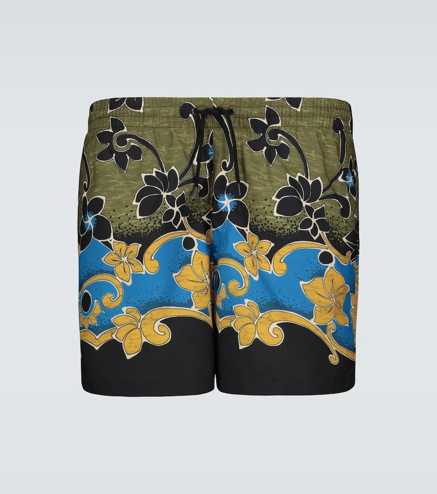 Short de bain à imprimé floral - Dries Van Noten - Modalova