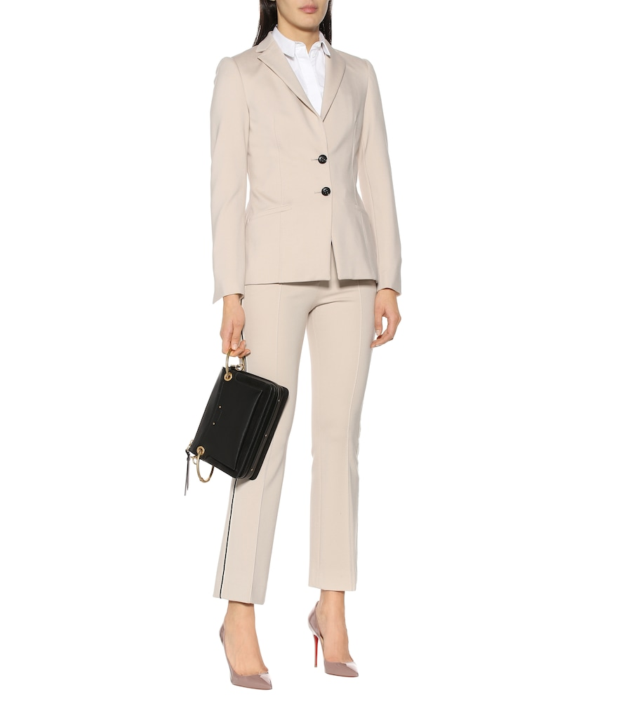 Emotional Essence jersey blazer by Dorothee Schumacher