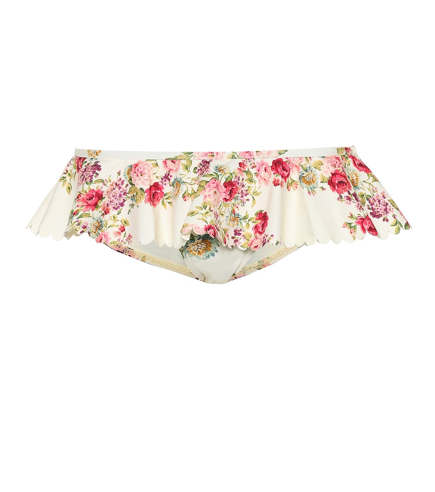ZIMMERMANN | Honour Floral Bikini Bottoms | Goxip