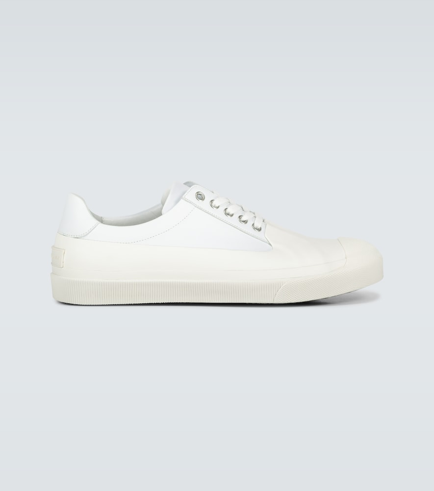 Dries Van Noten LEATHER AND RUBBER TOE SNEAKERS
