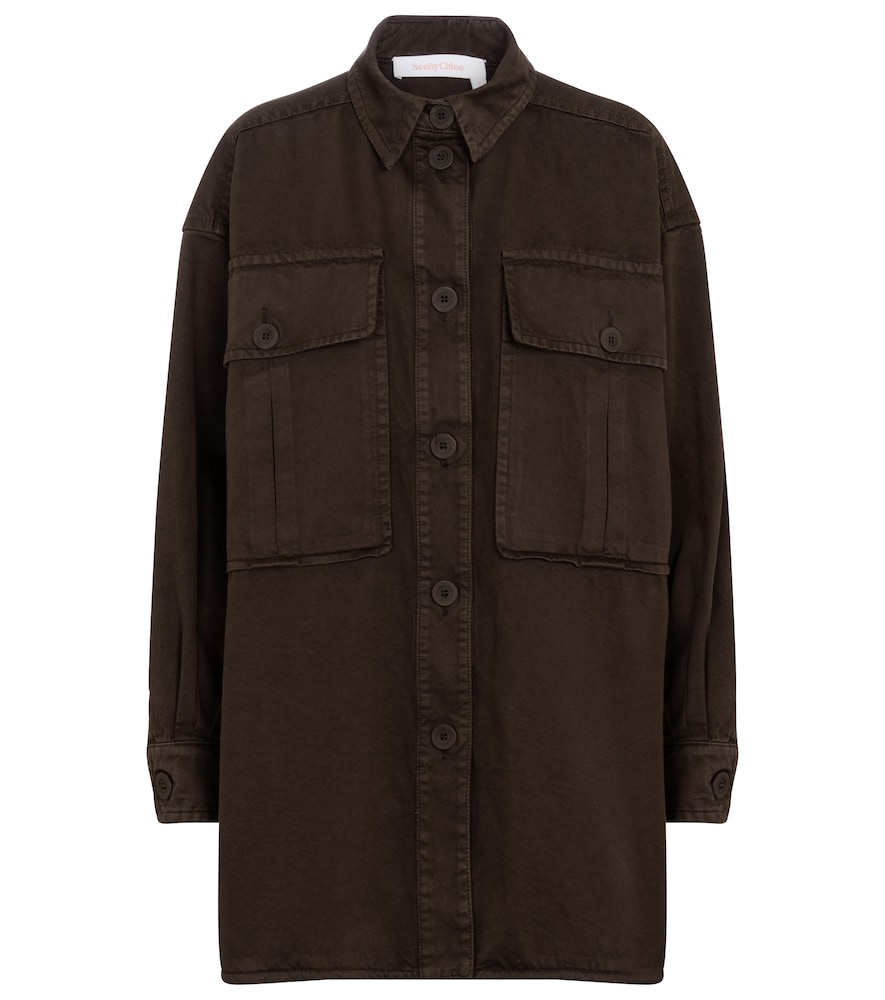 See By Chloé OVERSIZED SHIRT JACKET