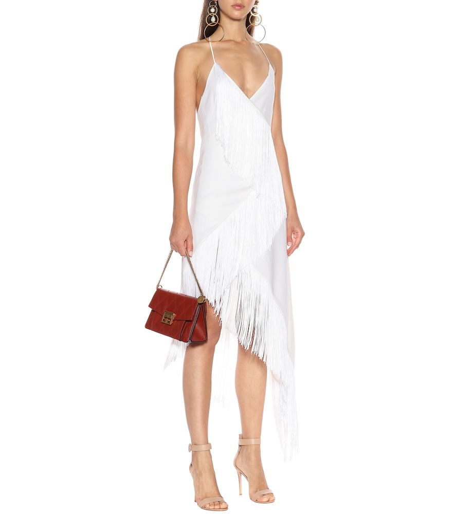 Fringed wool dress by Givenchy