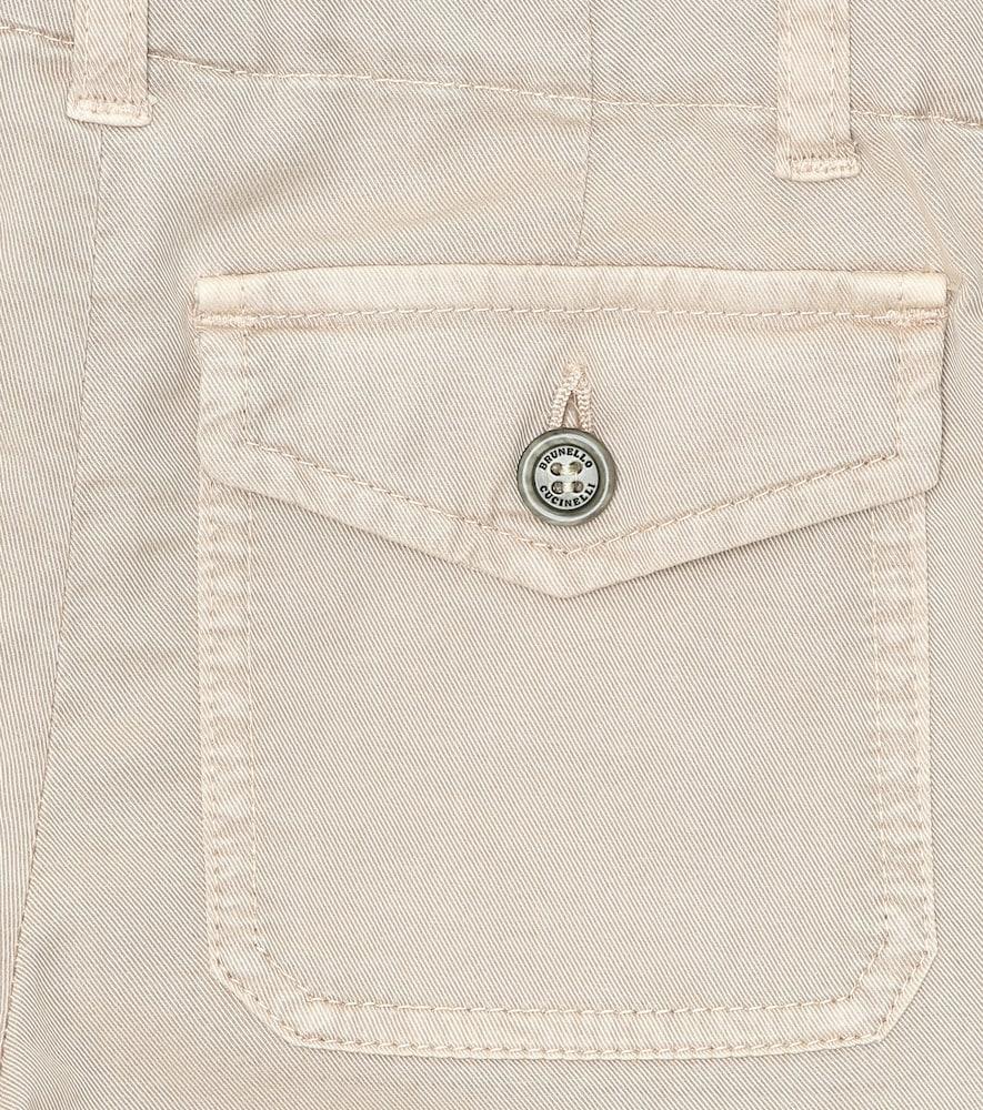 BRUNELLO CUCINELLI Cottons STRETCH-COTTON CARGO PANTS