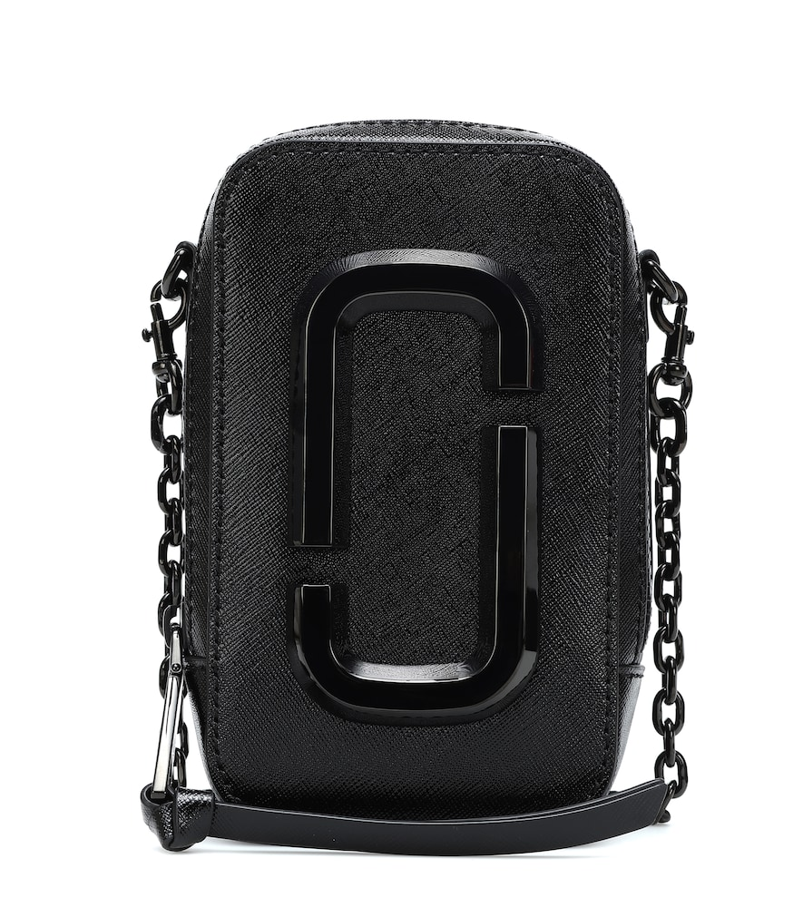 Hot Shot leather crossbody bag