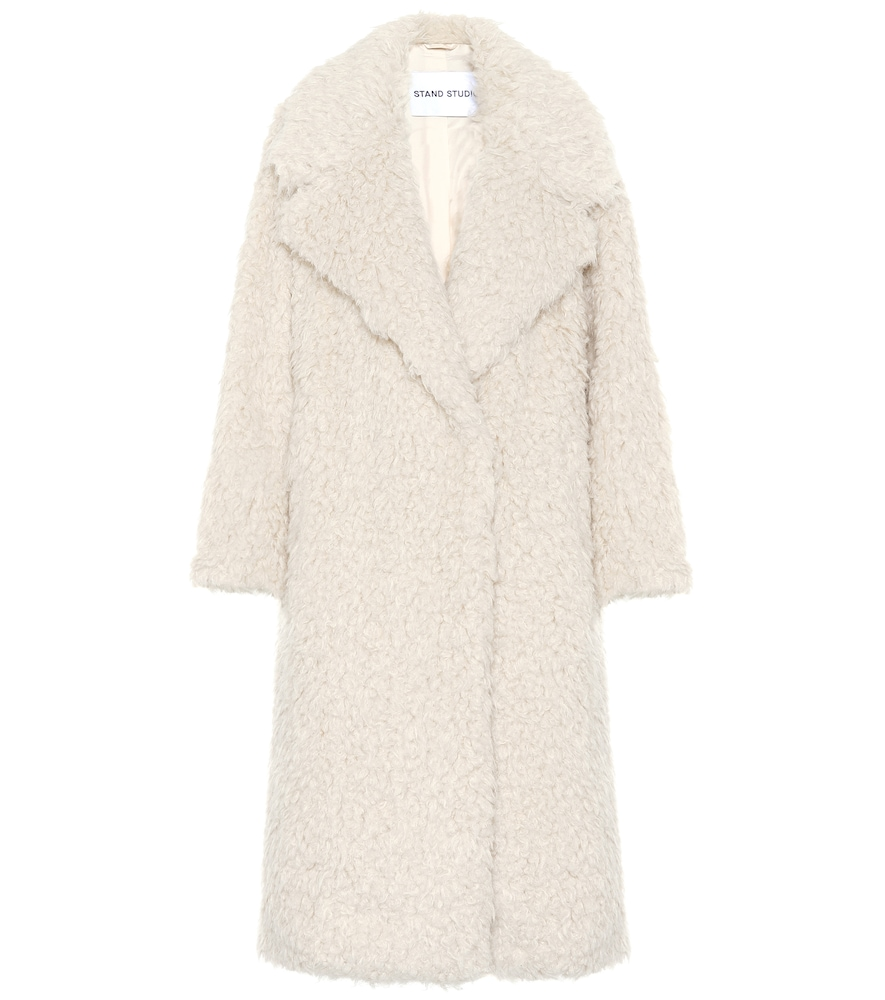 Manteau Nicoletta en shearling synthétique