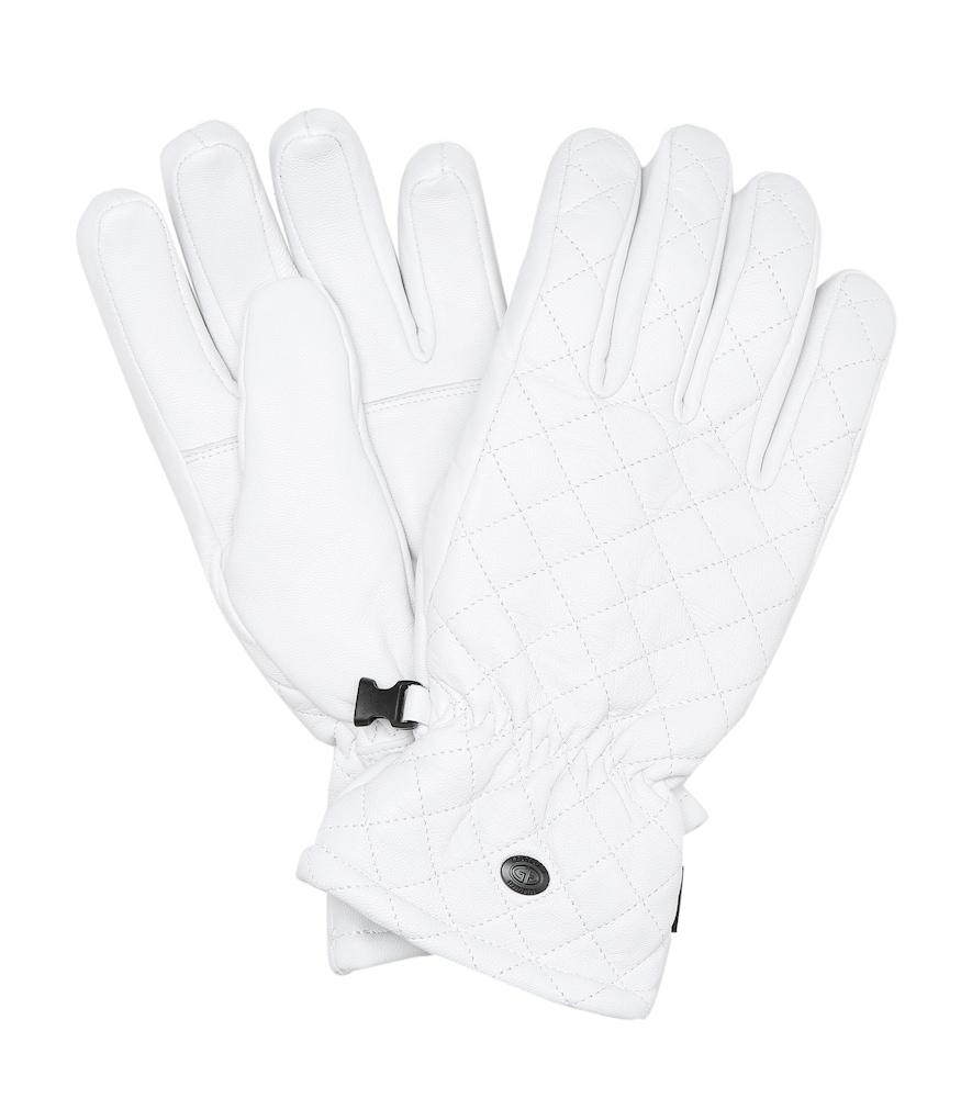 Nishi leather ski gloves