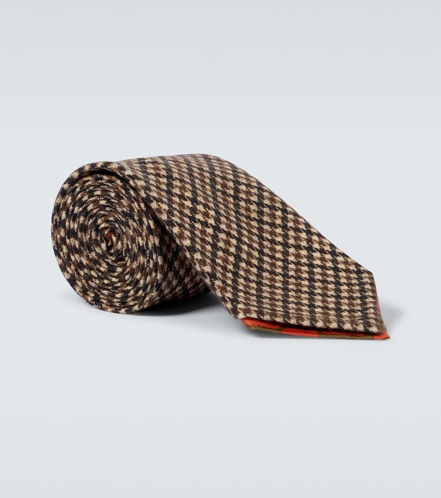 Bonassola wool tie