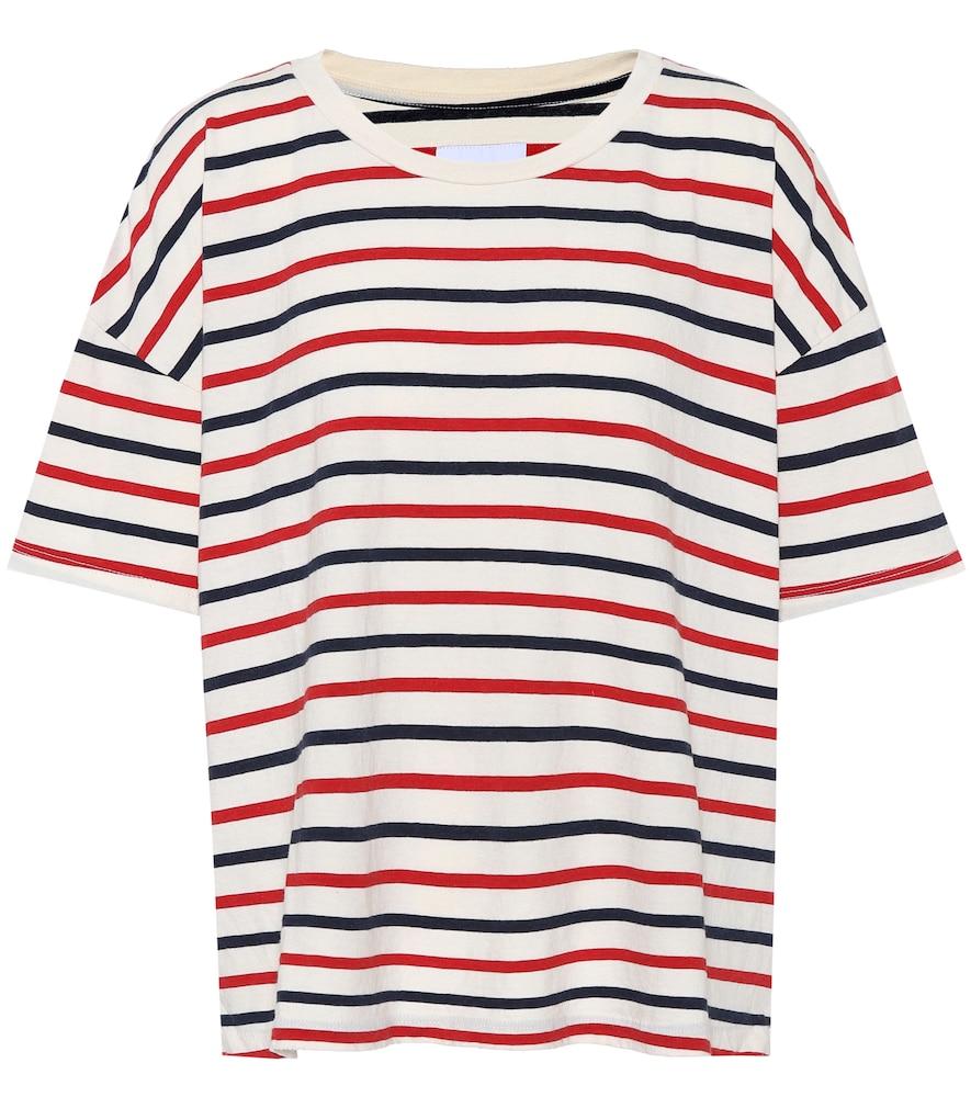 T-shirt en coton rayé The Roadie