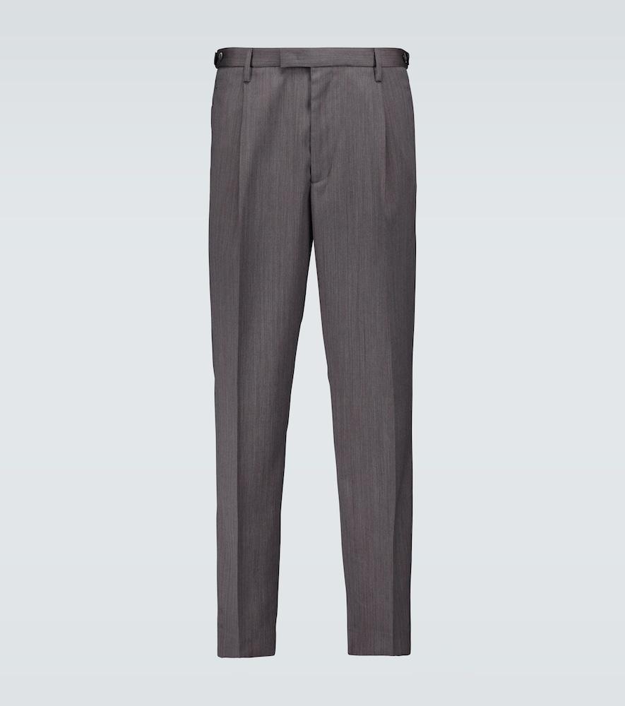 Masco Naspo single-pleated pants