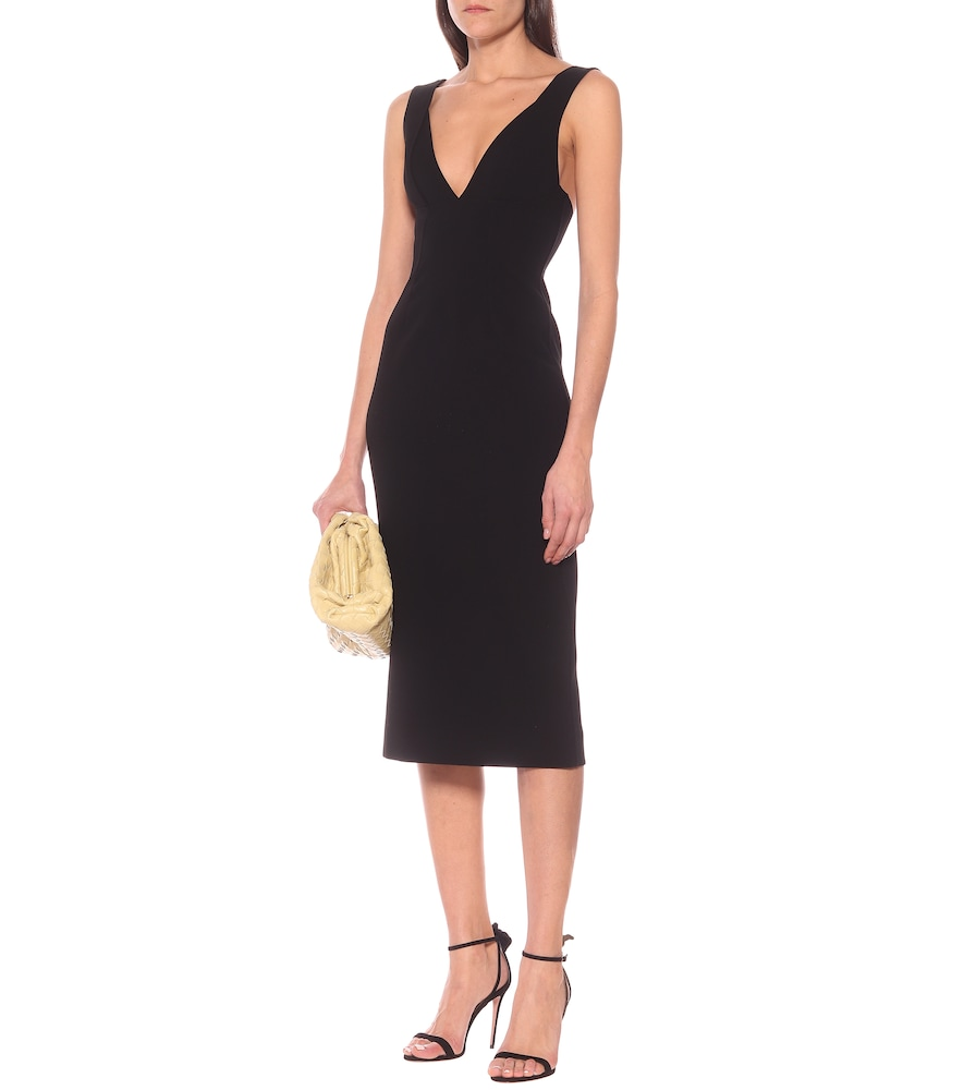 V-neck midi dress by Victoria Beckham