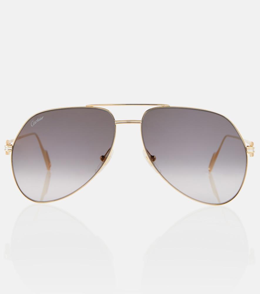 C de Cartier aviator sunglasses