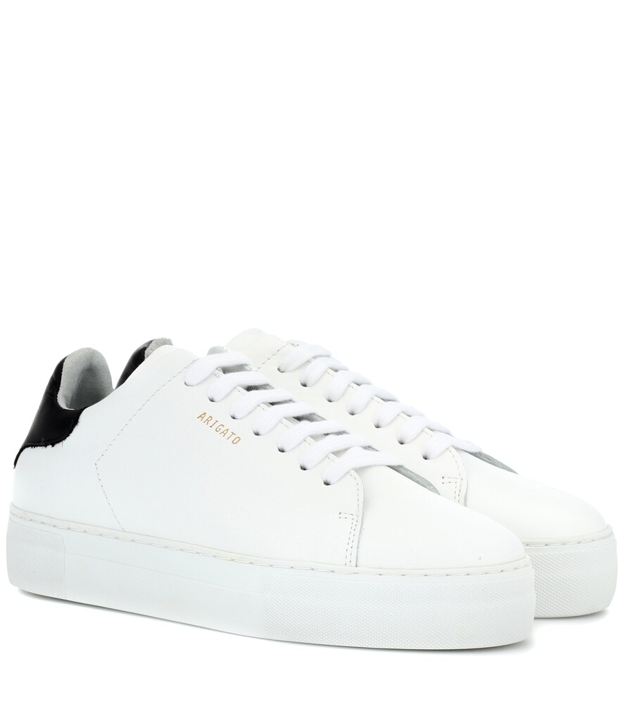 AXEL ARIGATO Clean 360 Leather Sneakers in White