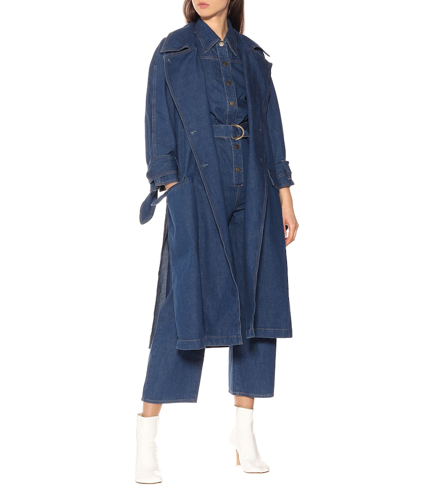 Audie denim trench coat by M.i.h Jeans