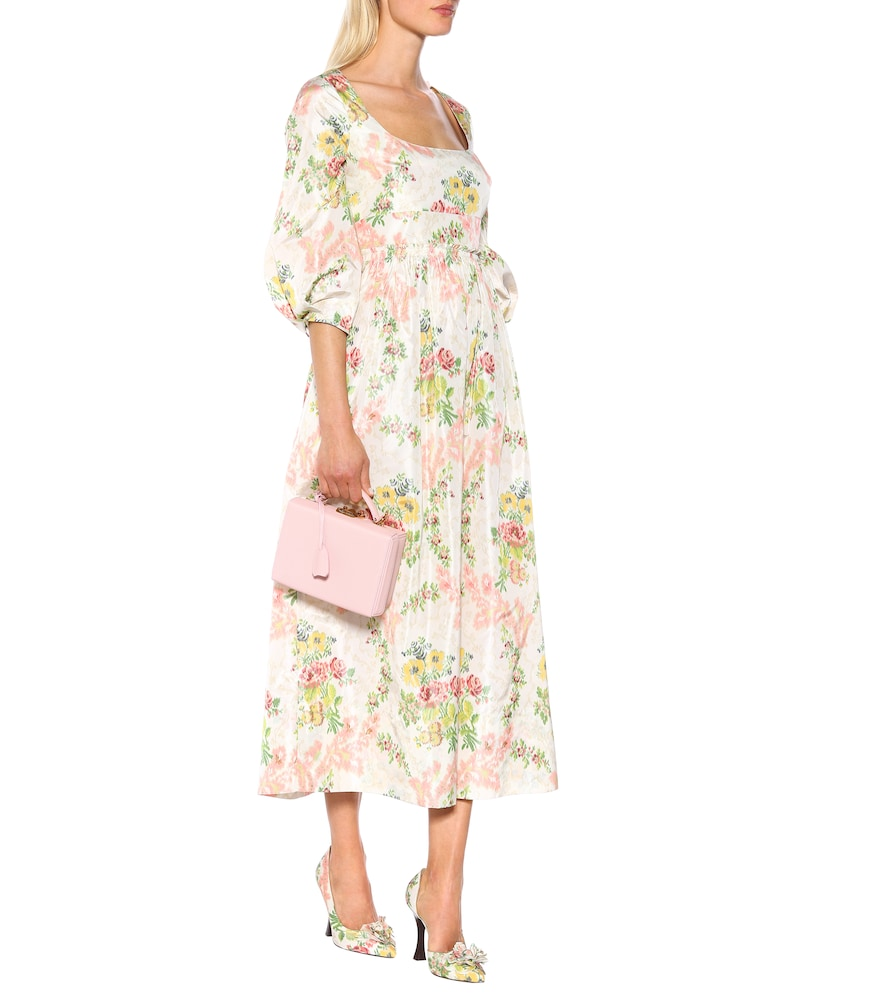 Exclusive to Mytheresa - Ondina floral taffeta midi dress by Brock Collection