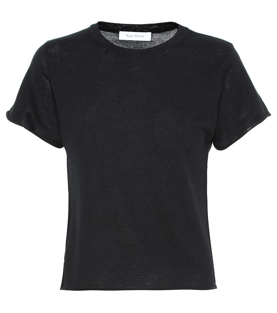 T-shirt en cachemire