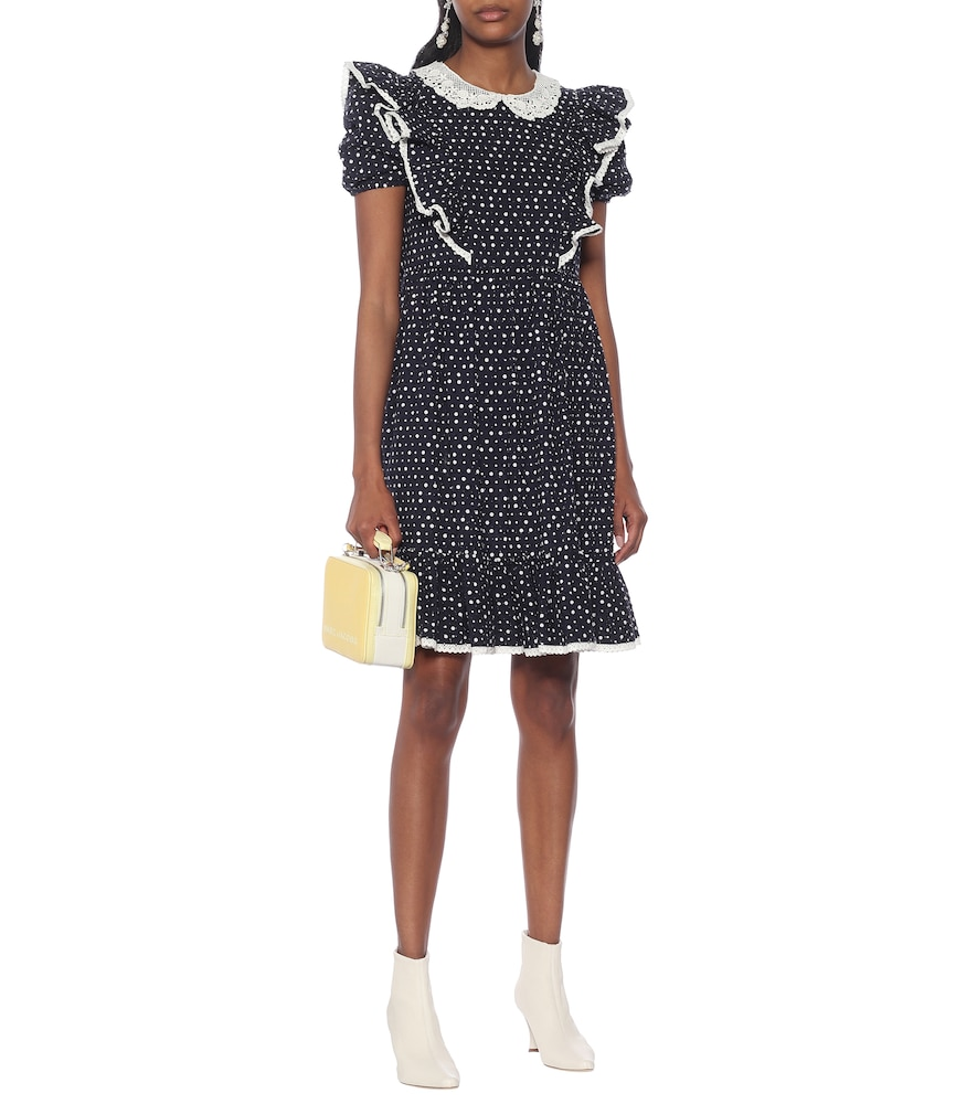 The Shirley cotton-blend dress by Marc Jacobs