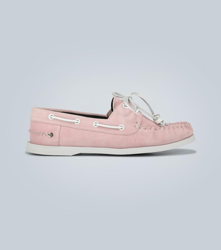 Chaussures bateau en suède - Loewe - Modalova