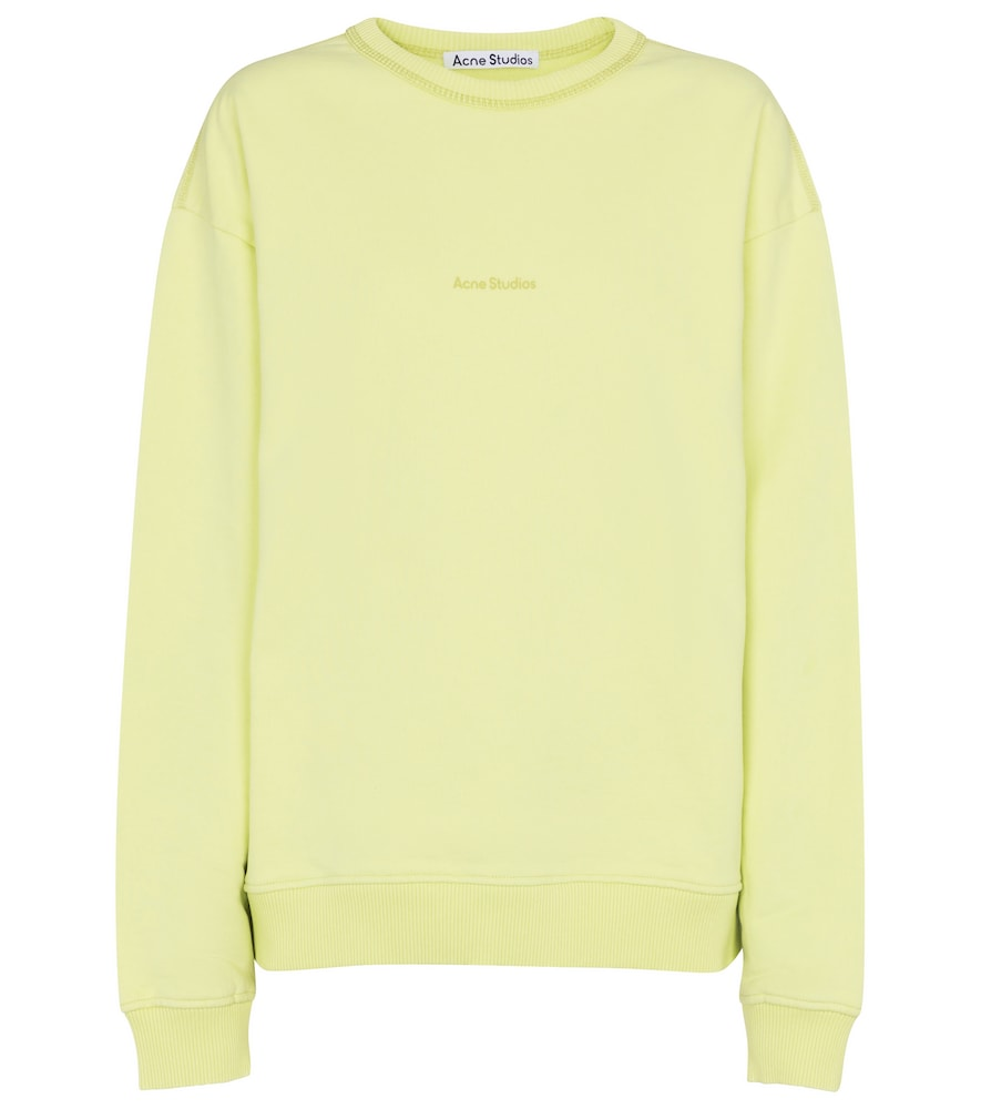 Acne Studios LOGO COTTON SWEATSHIRT