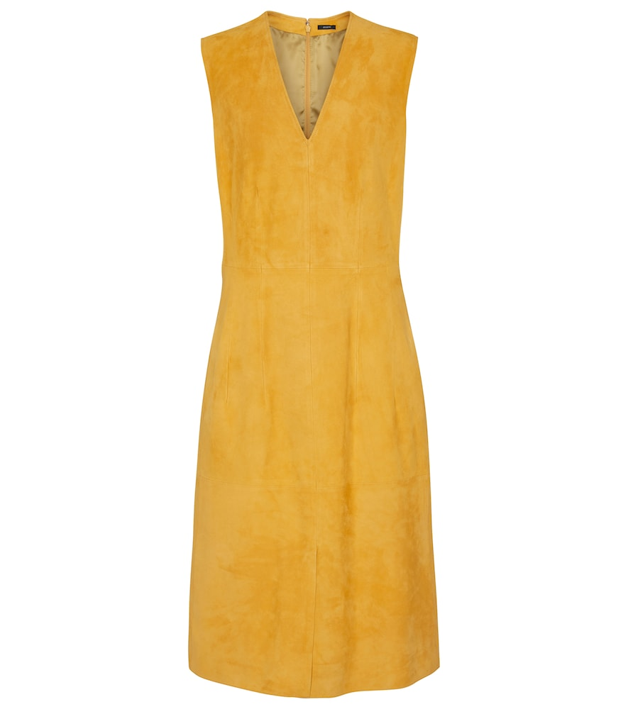 Joseph Midi dresses DANTY SUEDE DRESS