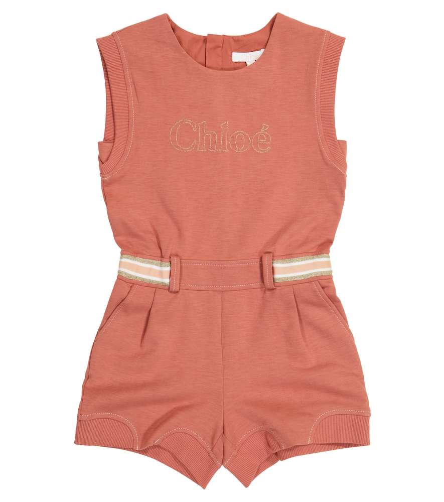 Chloé JERSEY PLAYSUIT