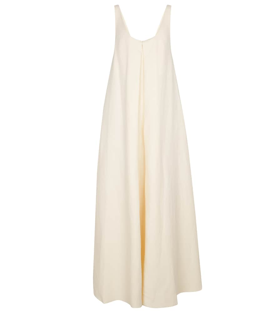 Ophelia linen and silk maxi dress by Gabriela Hearst