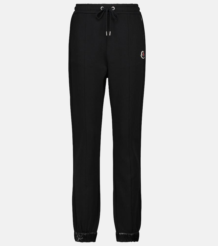 Stretch-cotton sweatpants