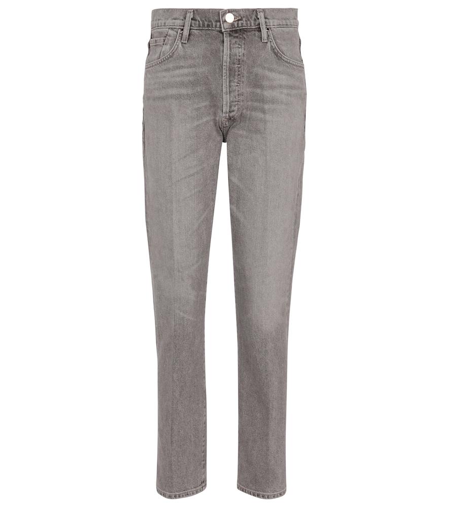 Benefit high-rise slim jeans