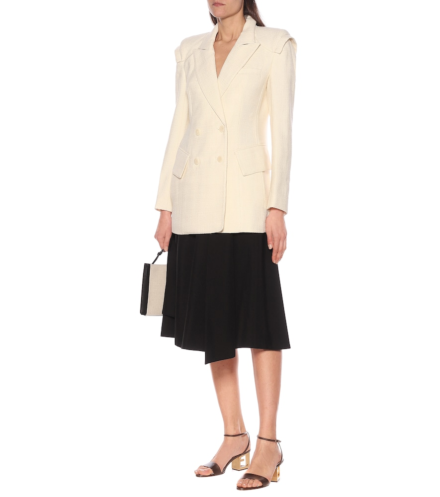 Wool and cotton-blend blazer by Tibi