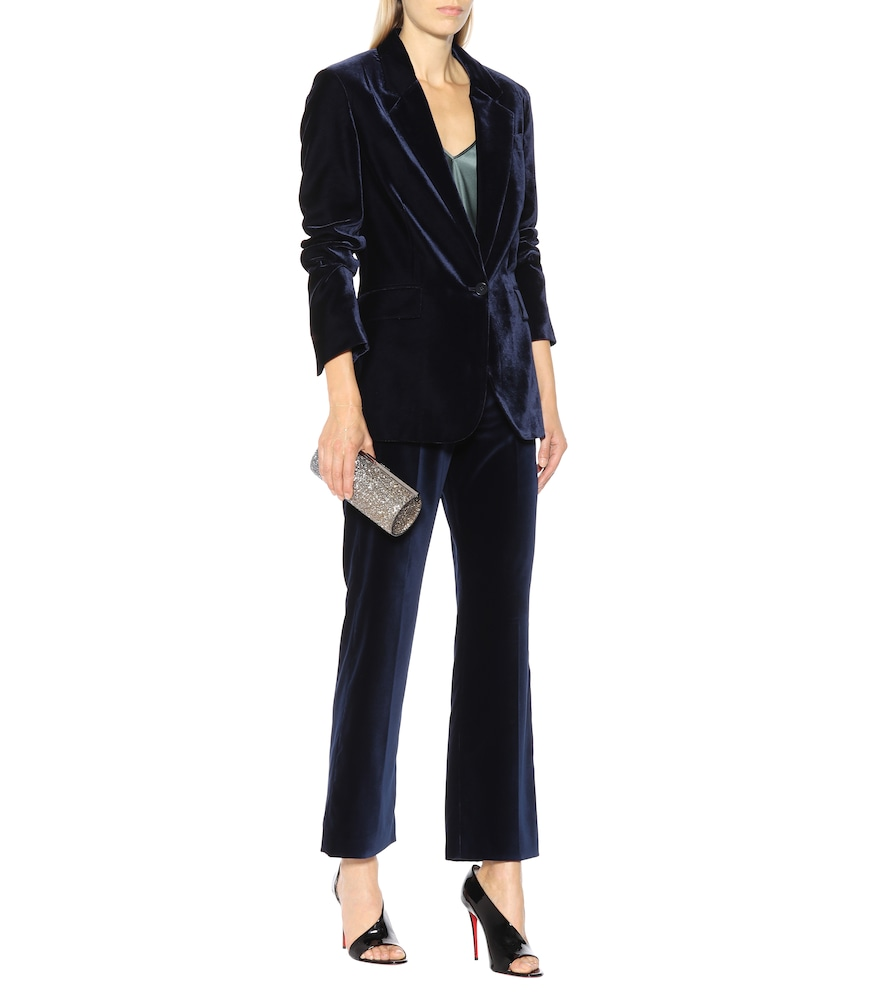 Nicole velvet blazer by Stella McCartney