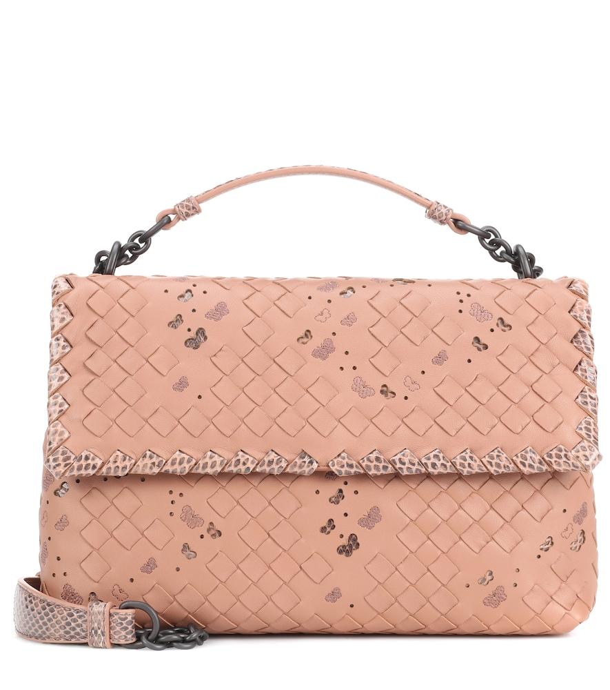 Olimpia Medium leather shoulder bag
