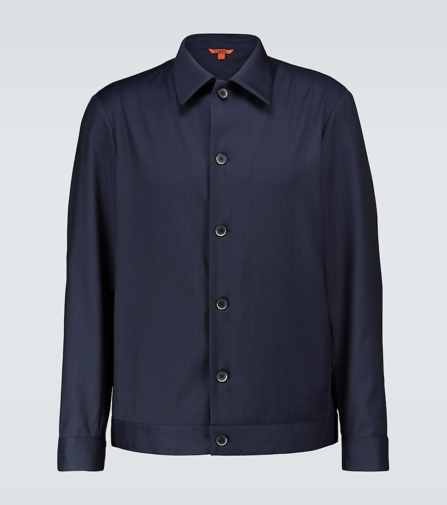 Secamoro wool overshirt